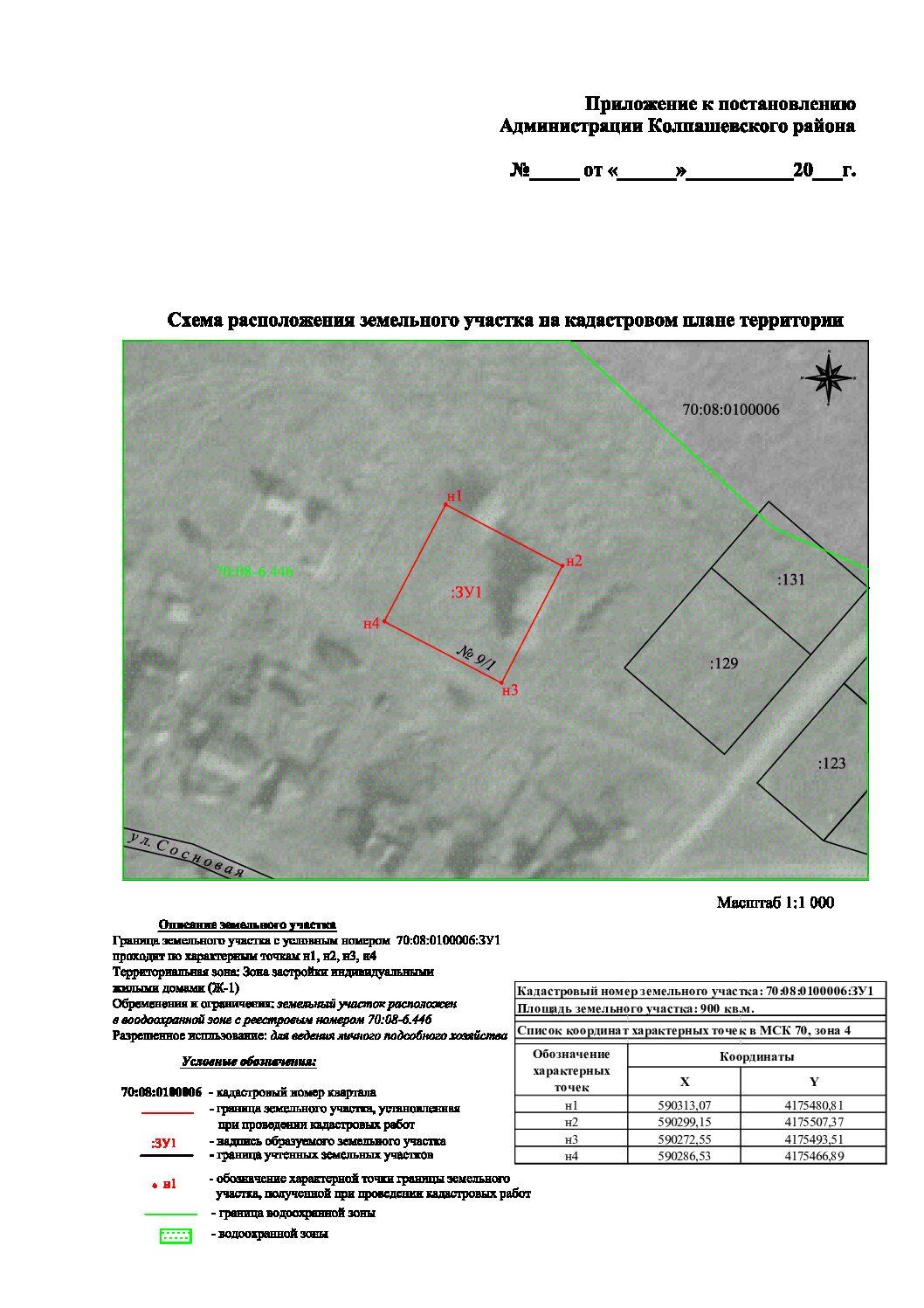 Извещение о предоставлении земельного участка